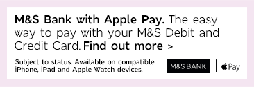M&S Bank with Apple Pay - Find out more