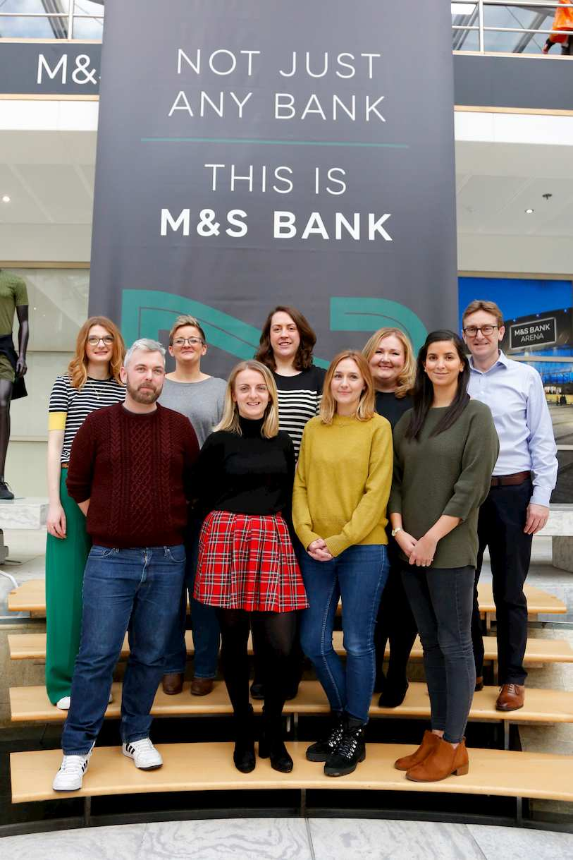 Members of M&S Bank's Diversity & Inclusion Committee