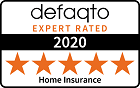 defaqto 2020 - 5 star - M&S Home Insurance