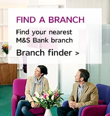 Find your nearest M&S Bank branch