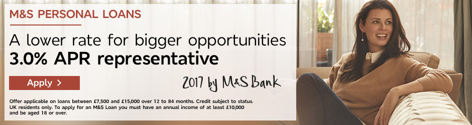 Start your application - M&S Personal Loans
