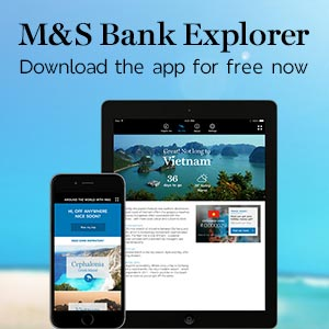 M&S Bank Explorer. Download the app for free now
