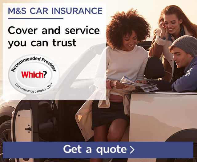 Start your quote - M&S Car Insurance