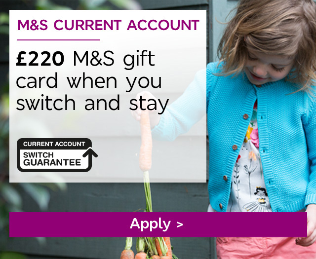 �100 M&S gift card when you switch
