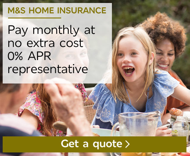 Start your quote - M&S Home Insurance