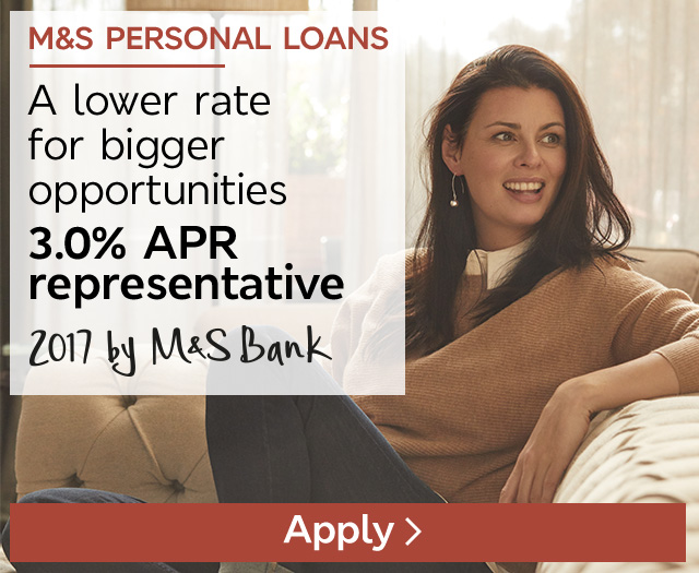 Put your plans into action with our great low rates, 3.6% APR representative - Apply