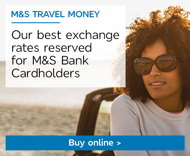 Buy Now - M&S Travel Money