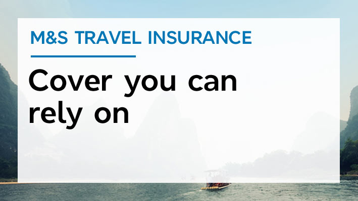 Learn more about M&S Travel Insurance
