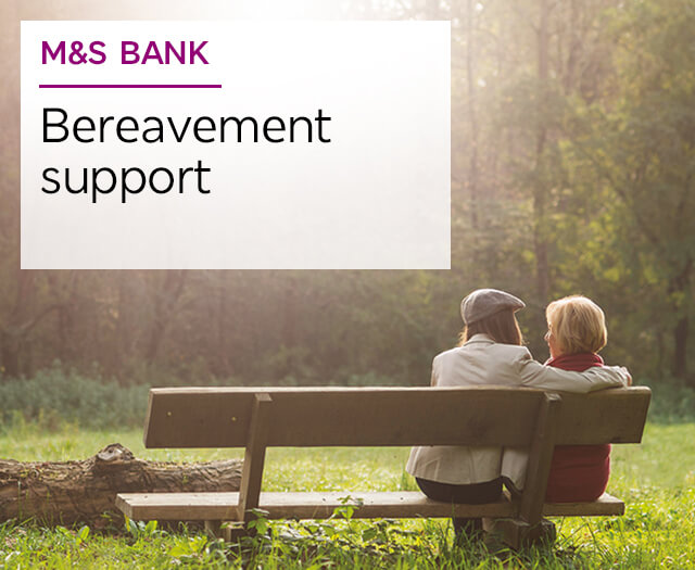 M&S Bank Bereavement support