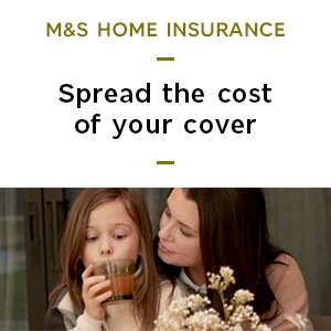 Learn more about our M&S Home Insurance