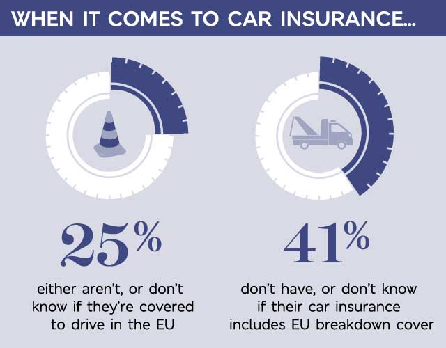 Car Insurance cover infographic